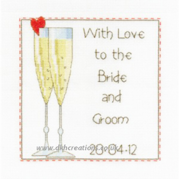 Celebration Wedding Sampler Cross Stitch Kit